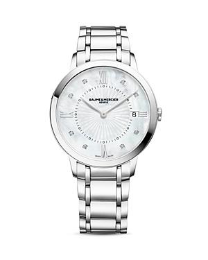 Baume & Mercier Classima Diamond Watch, 36.5mm