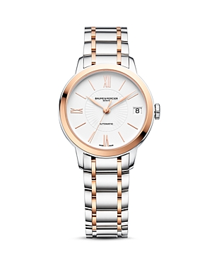 Baume & Mercier Classima Two Tone Automatic Watch, 31mm