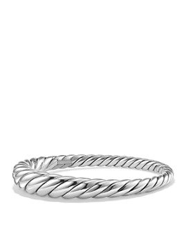 David Yurman - Pure Form Cable Bracelet in Sterling Silver