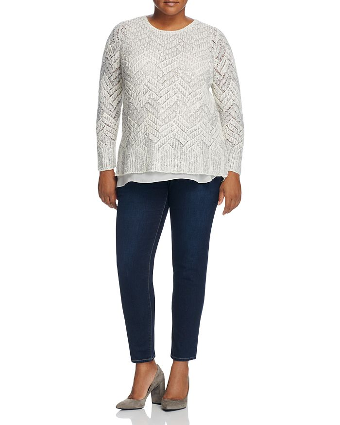 Lucky Brand Plus - Sweater & Jeans