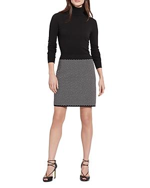 Lauren Ralph Lauren Chevron Skirt Dress