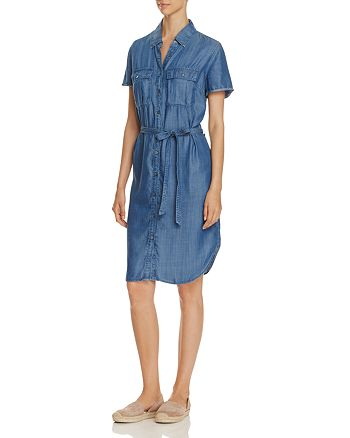 Just Living - Chambray Utility Dress - Compare at $90