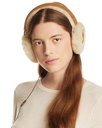 da90ef0cfe0 UGG® Classic Shearling Sheepskin Earmuffs with Wired Headphones ...