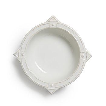 "Juliska - Berry & Thread French Panel Whitewash Serving Bowl, 11.5"""