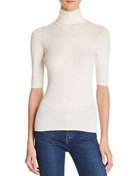 Theory - Leenda B Merino Wool Turtleneck Top