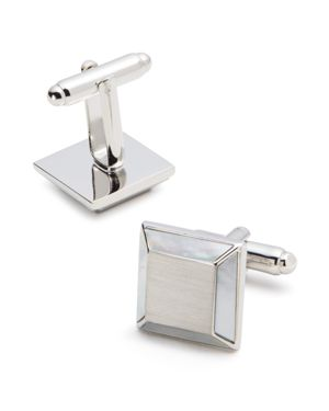 The Men's Store at Bloomingdale's Brushed Square Cufflinks