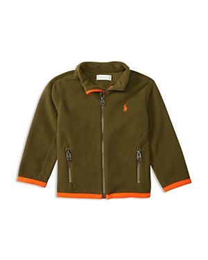 Ralph Lauren Childrenswear Boys' Micro Fleece Jacket - Baby