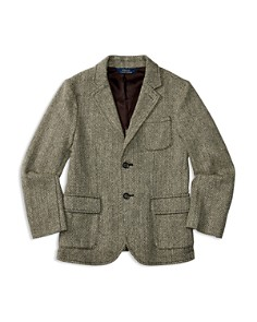 Polo Ralph Lauren Boys' Wool Blend Herringbone Tweed Sport Coat - Little Kid, Big Kid - Bloomingdale's_0
