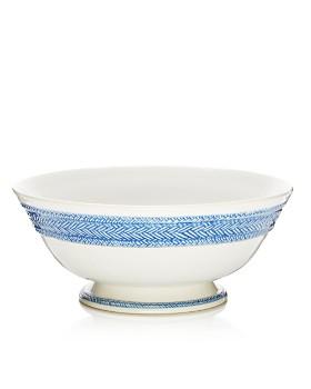 Juliska - Le Panier Delft Footed Fruit Bowl