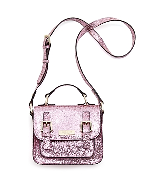 kate spade new york Girls' Glitter Scout Crossbody Bag
