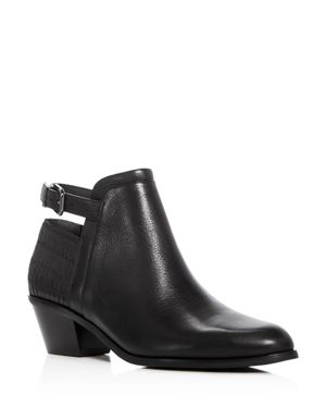 Via Spiga Caryn Low Heel Booties