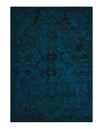 "Nourison - Timeless Rug - Peacock, 9'9"" x 13'"