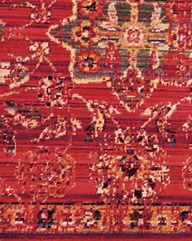 Nourison - Timeless Area Rug Collection - Red