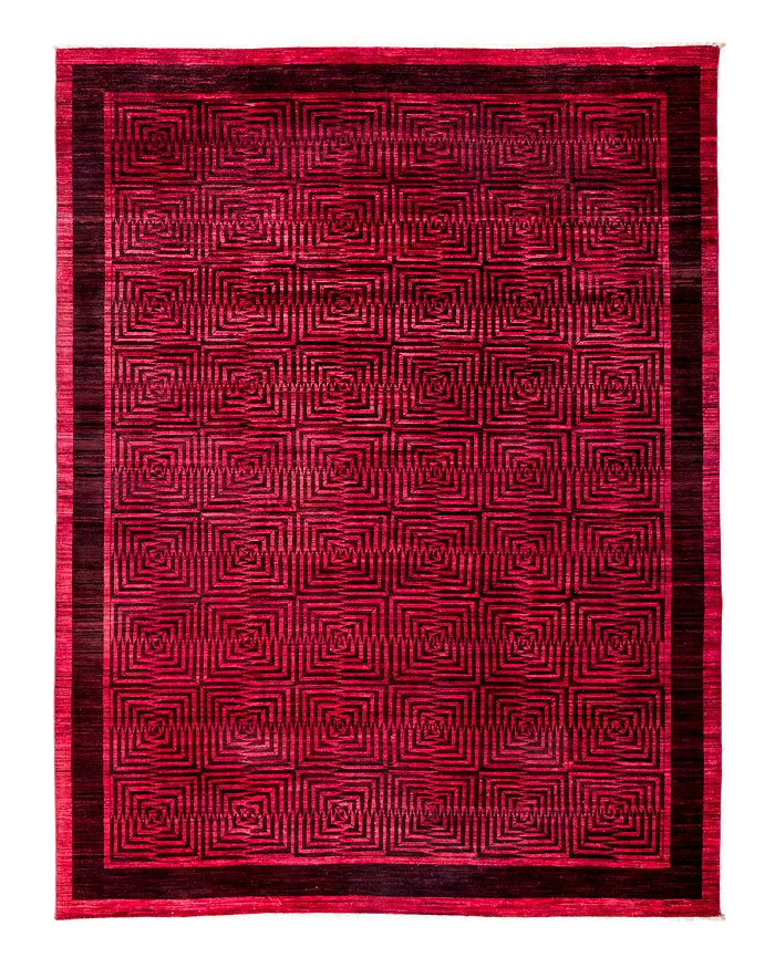 """Solo Rugs - Vibrance Overdyed Area Rug, 8'10"""" x 11'8"""""""