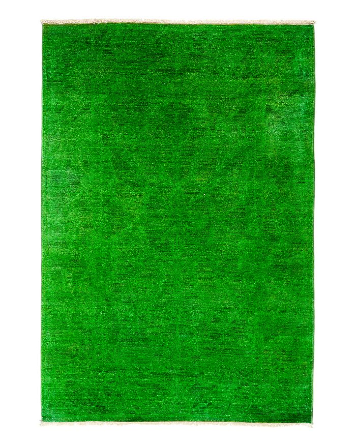 """Solo Rugs - Vibrance Overdyed Area Rug, 4'3"""" x 6'1"""""""
