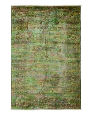 Solo Rugs Vibrance Overdyed Area Rug, 4'1 x 6'2