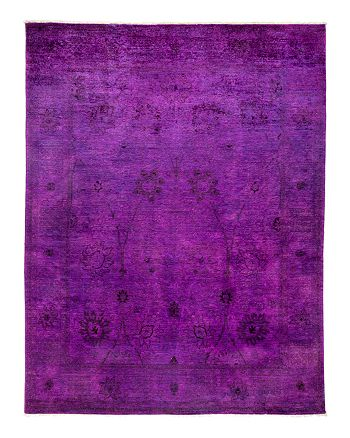 Solo Rugs - Vibrance Overdyed Area Rug, 8' x 10'4""