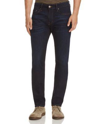 MAVI Jake Slim Fit Jeans In Brushed Williamsburg in Rinse Brushed Williamsburg