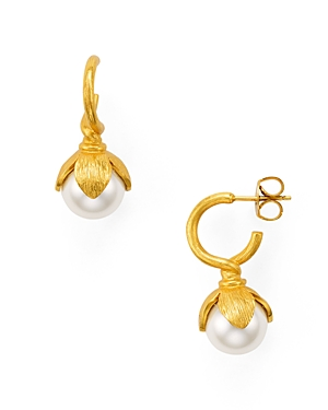 Julie Vos Penelope Hoop Earrings