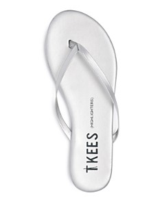 TKEES - Women's Patent Leather Flip-Flops