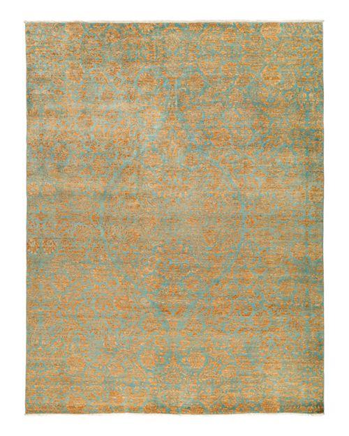 "Solo Rugs - Suzani Oriental Area Rug, 9'2"" x 11'10"""