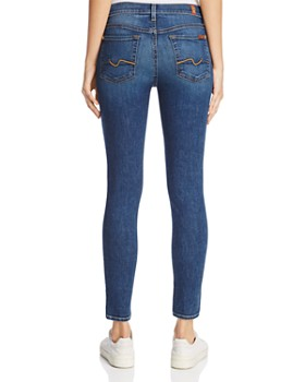 7 For All Mankind - The Ankle Skinny Jeans in Medium Melrose 2