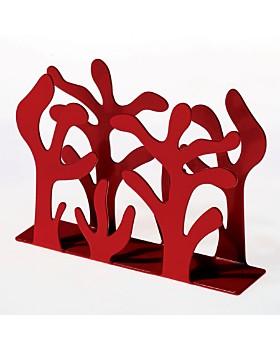 Alessi - Alessi Mediterraneo Napkin Holder, Red