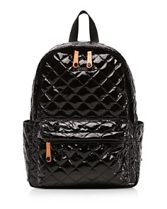 MZ WALLACE - Oxford Metro Lacquer Small Backpack