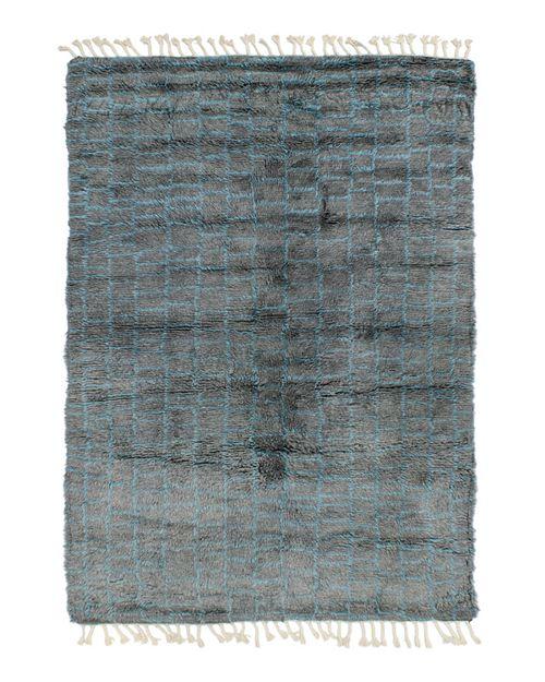 Lillian August - Boxy Shag Area Rug, 5' x 8'
