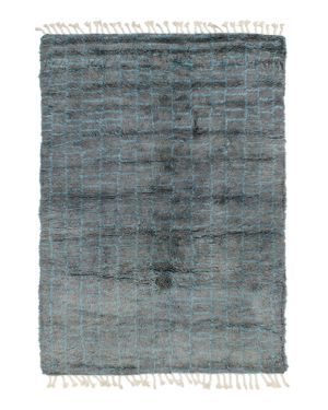 Grit & ground Boxy Shag Area Rug, 8' x 10'