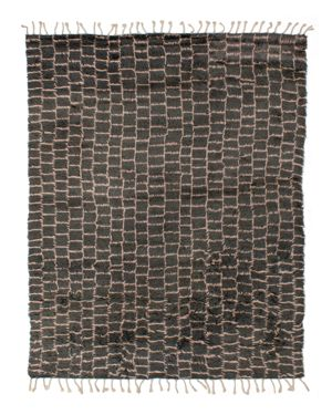 Grit & ground Boxy Shag Area Rug, 5' x 8'