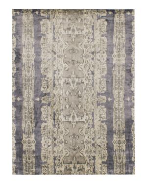 Grit & ground Electro Fusion Silk Area Rug, 10' x 14'
