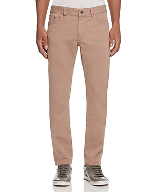 Boss Delaware Soft Twill Slim Fit Jeans in Khaki - 100% Exclusive