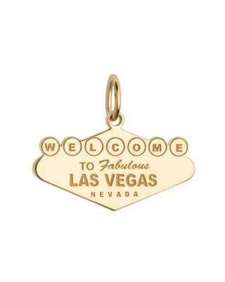 WELCOME TO VEGAS SIGN CHARM