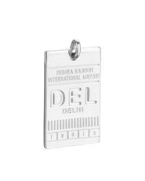 Jet Set Candy Del Delhi India Luggage Tag Charm
