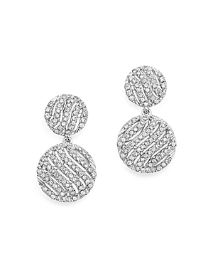 Dana Rebecca Designs 14K White Gold Jeb Diamond Drop Earrings