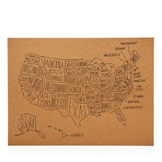 Easy Tiger US Map Wall Decor - Bloomingdale's_0