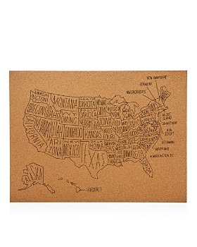 Easy Tiger - US Map Wall Decor
