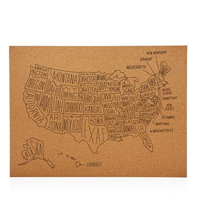 United States Map Wall Decor.Easy Tiger Us Map Wall Decor Bloomingdale S