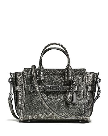 COACH - Pebble Leather Coach Swagger 15