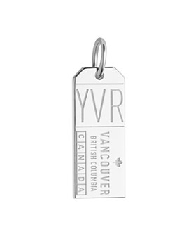 Jet Set Candy - Vancouver, Canada YVR Luggage Tag Charm