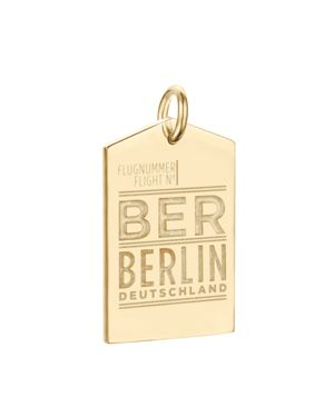 Jet Set Candy Ber Berlin Luggage Tag Charm
