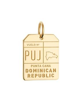 Jet Set Candy - PUJ Punta Cana DR Luggage Tag Charm