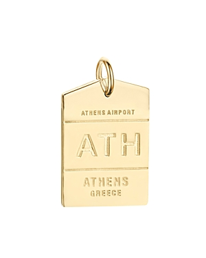 Jet Set Candy Ath Athens Luggage Tag Charm