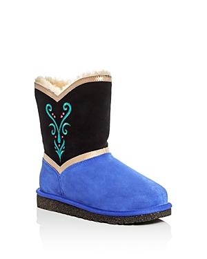Ugg Girls' Frozen Anna Coronation Boots - Little Kid, Big Kid