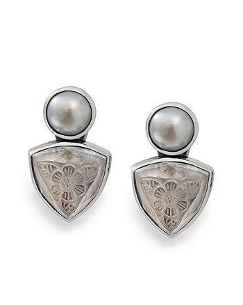 Stephen Dweck - Etched Clip On Earrings