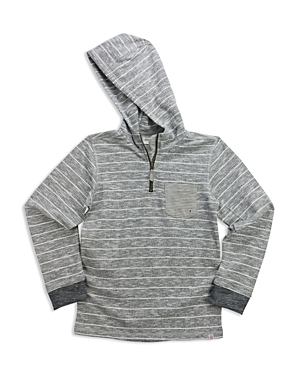 Sovereign Code Boys' Slubbed Striped French Terry Hoodie - Sizes S-xl