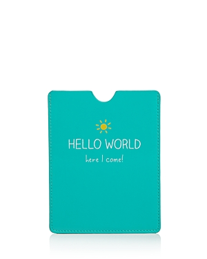 Happy Jackson Hello World Passport Case