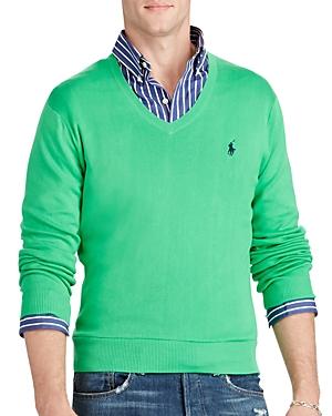 Polo Ralph Lauren Pima Cotton Slim Fit Sweater