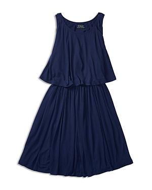 Ralph Lauren Childrenswear Girls Layered Knit Dress  Sized 26X